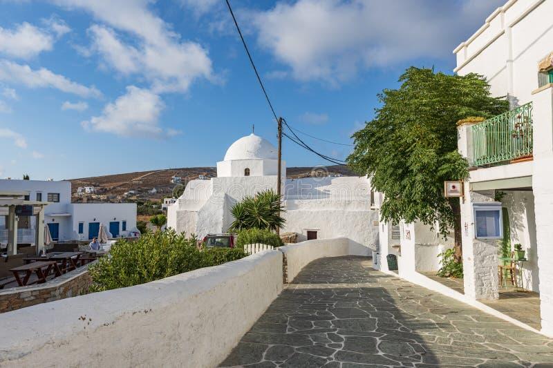 FOLEGANDROS ISLAND, GREECE. FOLEGANDROS ISLAND, CYCLADES ISLANDS GREECE stock image