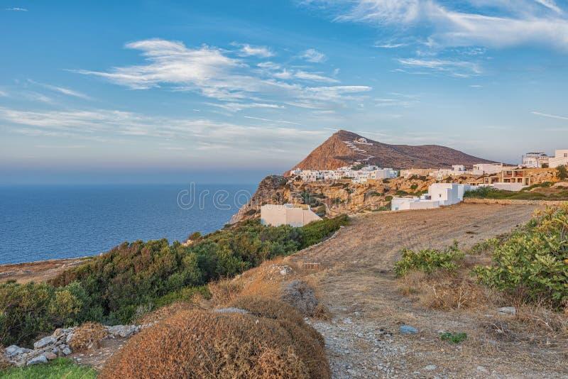 FOLEGANDROS ISLAND, GREECE. FOLEGANDROS ISLAND, CYCLADES ISLANDS GREECE royalty free stock photography
