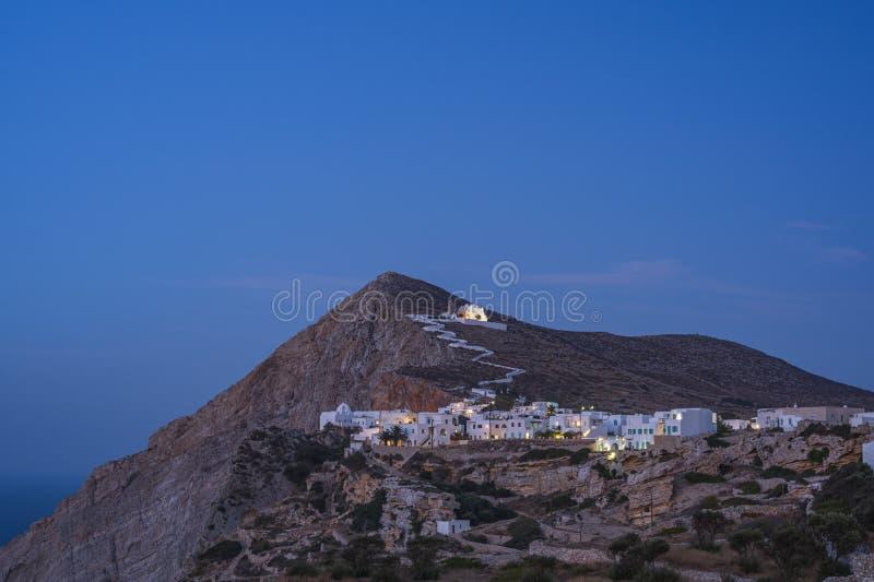 FOLEGANDROS ISLAND, GREECE. FOLEGANDROS ISLAND, CYCLADES ISLANDS GREECE royalty free stock images