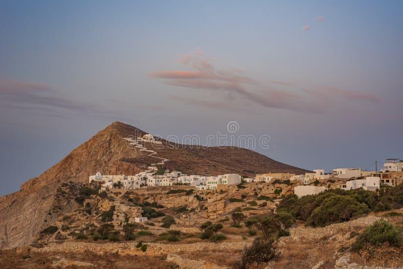 FOLEGANDROS ISLAND, GREECE. FOLEGANDROS ISLAND, CYCLADES ISLANDS GREECE stock photography