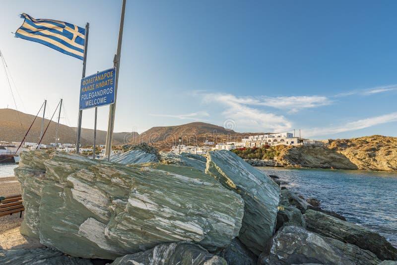 FOLEGANDROS ISLAND, GREECE. FOLEGANDROS ISLAND, CYCLADES ISLANDS GREECE royalty free stock photo