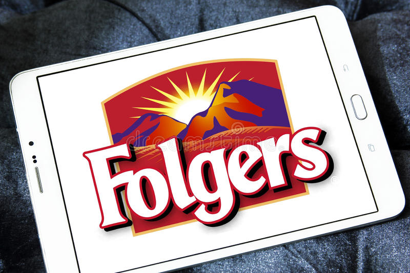 Folgers Coffee Brand Logo Editorial Stock Image Image Of