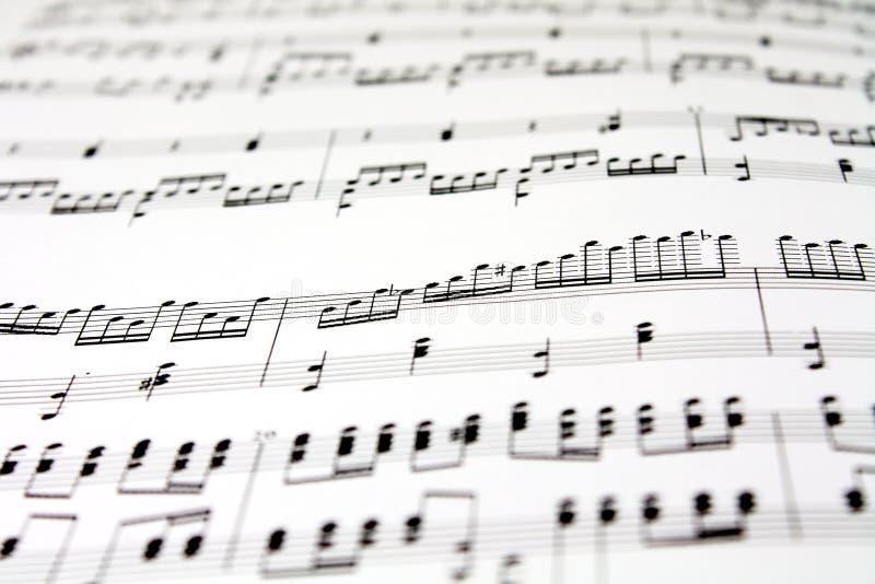Folha de música fotos de stock royalty free