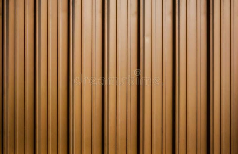 Folha de metal ondulada dourada ilustração stock