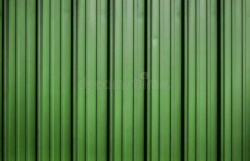 Folha de metal ondulada verde ilustração do vetor