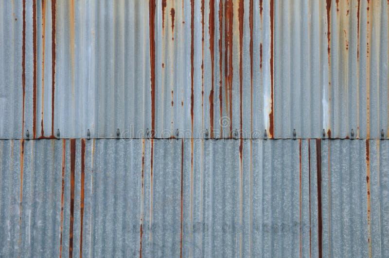 Folha de metal oxidada fotos de stock