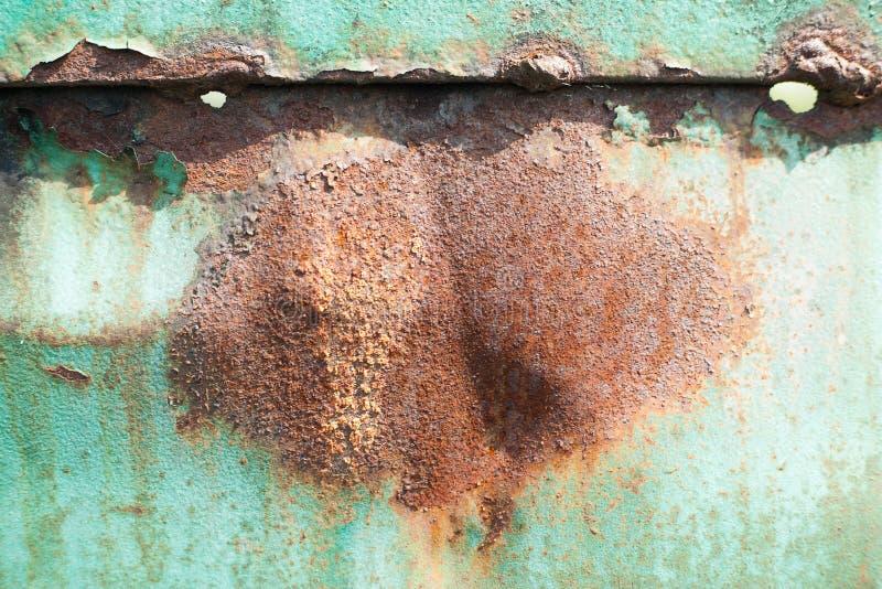 Folha de metal oxidada, uso velho da textura do metal do grunge para o fundo, textura industrial para o fundo abstrato Oxida??o d fotos de stock royalty free