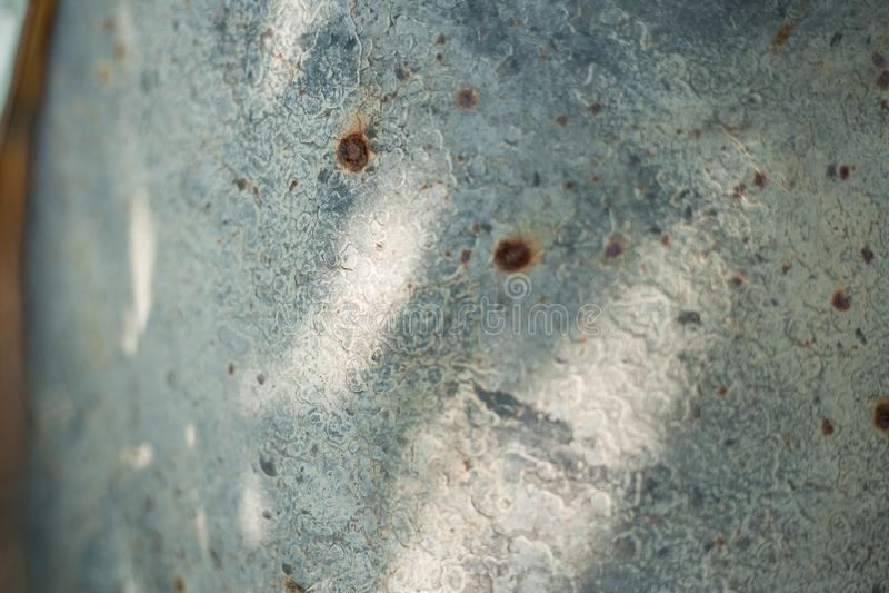 Folha de metal oxidada, uso velho da textura do metal do grunge para o fundo, textura industrial para o fundo abstrato Oxida??o d imagens de stock royalty free