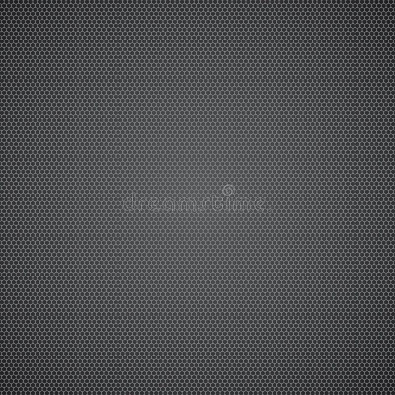 Folha de metal pontilhada preto ilustração royalty free