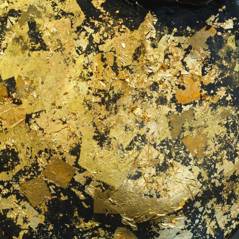 Folha de ouro imagem de stock royalty free