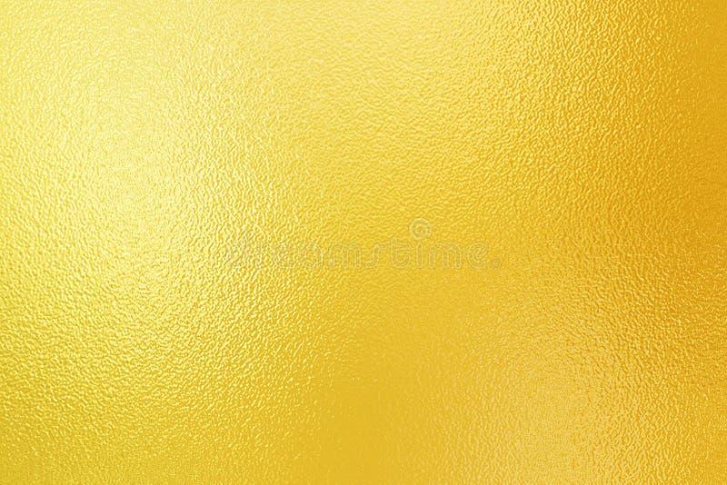 Folha de ouro de brilho imagem de stock royalty free