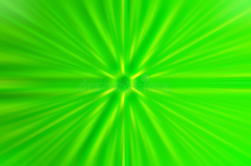 Folha de palmeira com luz da parte traseira para ver a linha Linha reta de folha verde com luz na manhã Pode usar-se para para ad ilustração do vetor