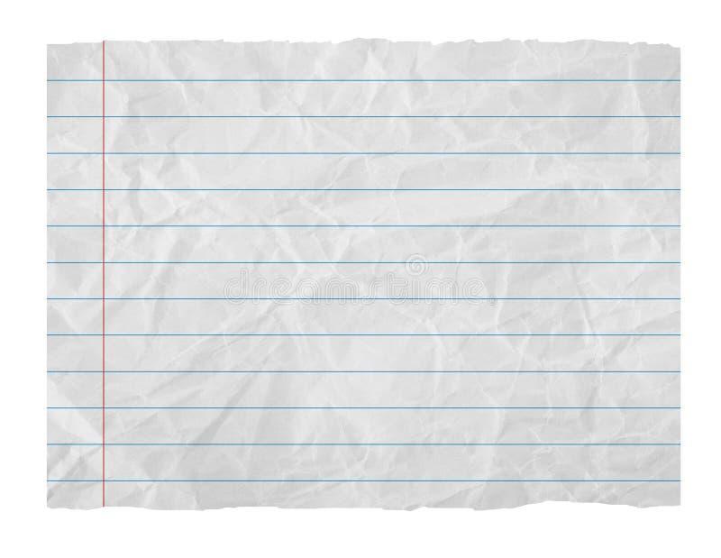 Folha de papel ilustração do vetor