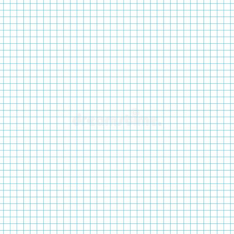 Folha de papel alinhada sem emenda o fundo ilustração stock