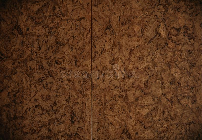 Folha de papel do cartão de Brown a textura do fundo foto de stock royalty free