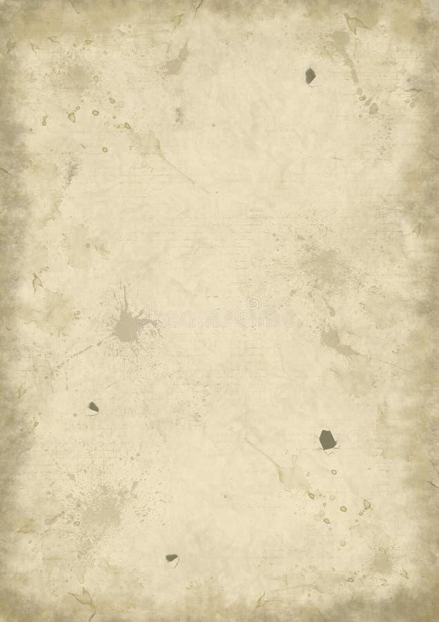 Download Fundo de papel velho ilustração stock. Ilustração de furo - 29835518