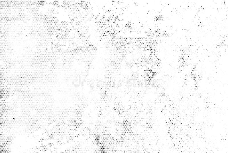 Folha de prova de intervalo mínimo preta sutil da textura do vetor Fundo branco chapinhado abstrato monocromático Corajoso preto  ilustração stock