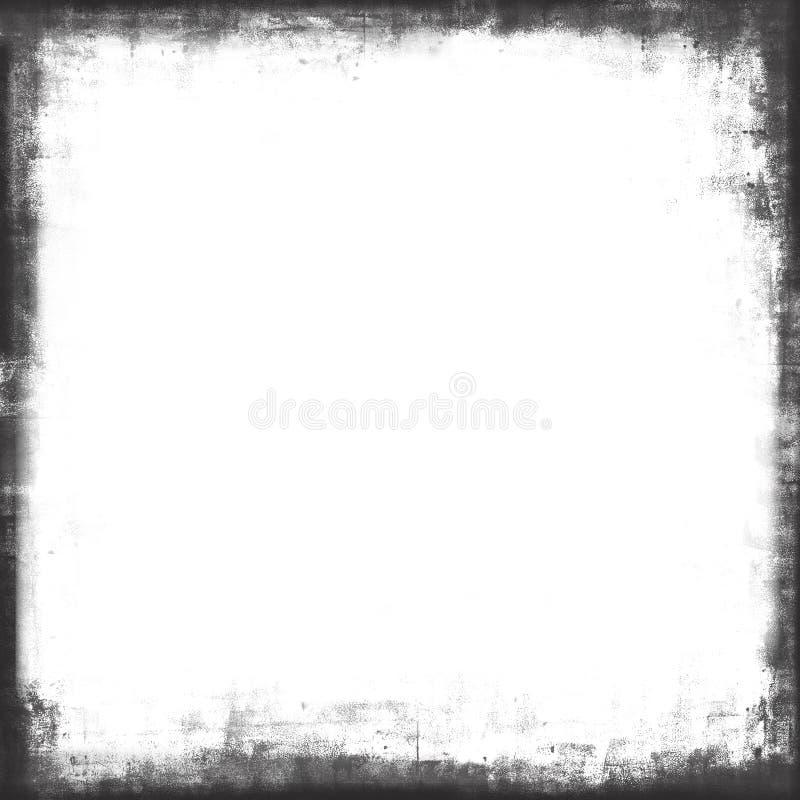 Folha de prova pintada textura da máscara do frame de Grunge fotografia de stock royalty free