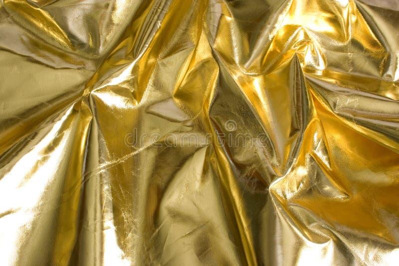 folha do ouro do abstarct do fundo fotos de stock royalty free
