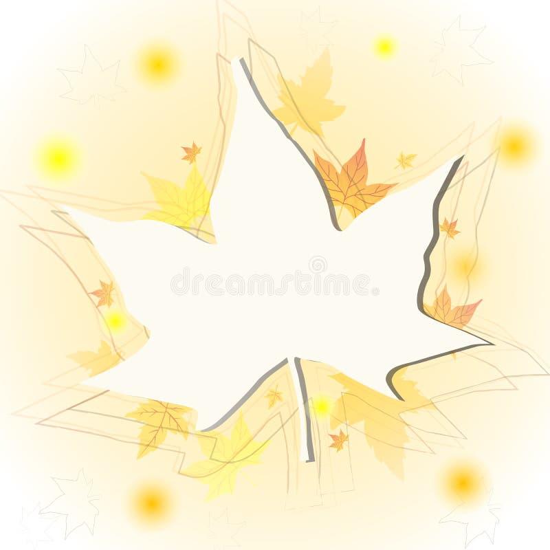 Download Folha do outono ilustração stock. Ilustração de desenho - 26509385