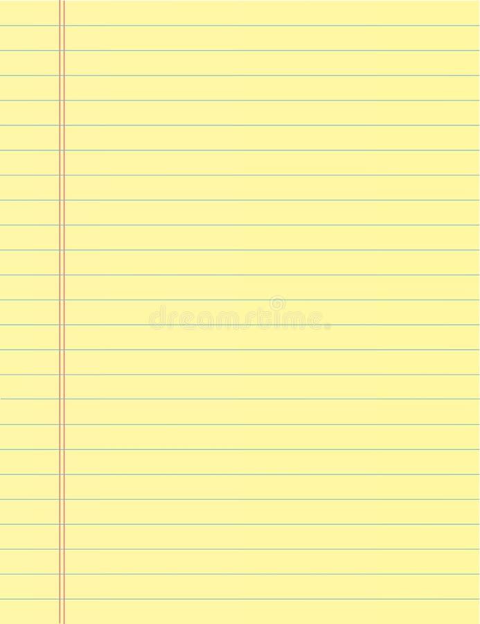 Folha do papel do caderno da escola Fundo da página do livro de exercício Contexto alinhado do bloco de notas fotos de stock royalty free