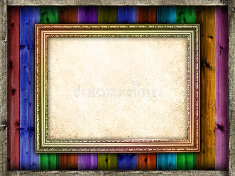 Download Folha Do Papel Vazio Na Moldura Para Retrato Imagem de Stock - Imagem de beira, placa: 29832725