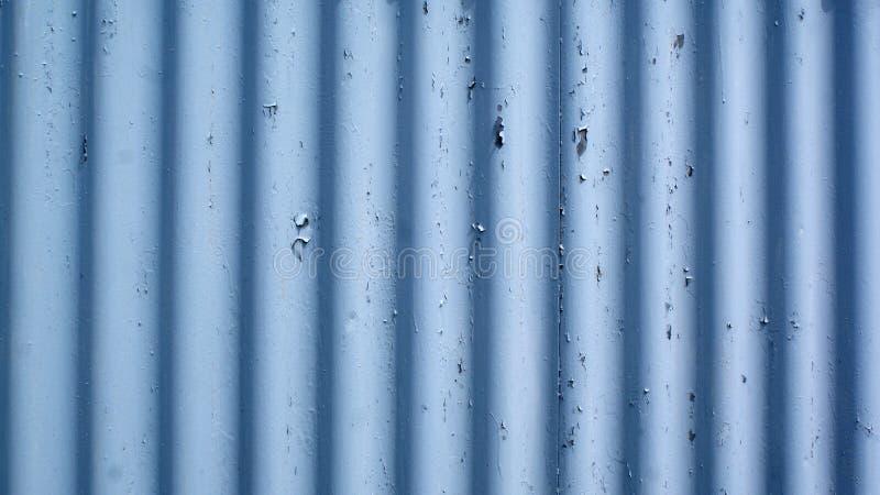 Folha ondulada azul imagem de stock royalty free