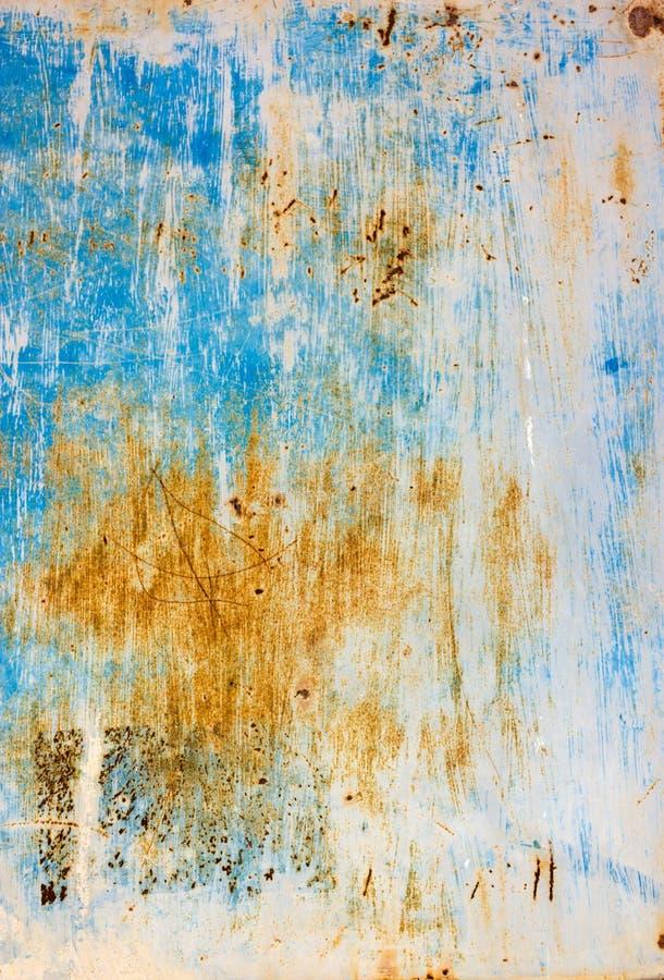 Folha oxidada do ferro imagens de stock royalty free