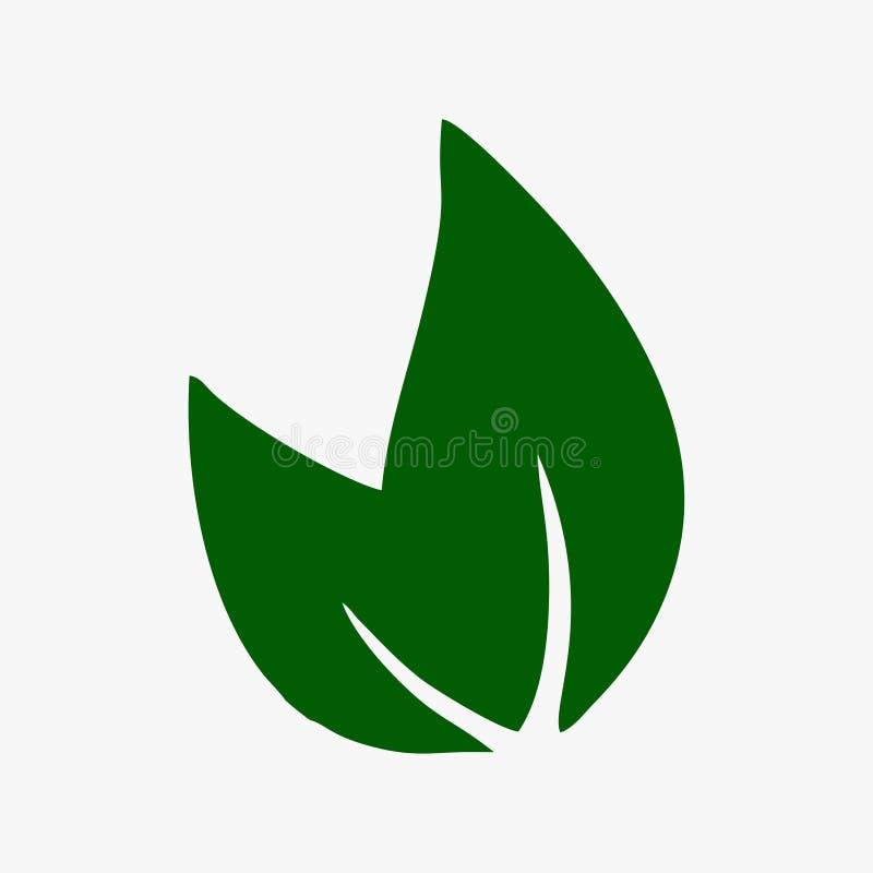 A folha, planta, logotipo, ecologia, pessoa, bem-estar, verde, folhas, grupo do ícone do símbolo da natureza do vetor projeta ilustração royalty free
