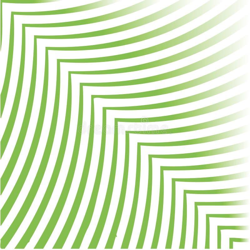 Folha verde ilustração do vetor