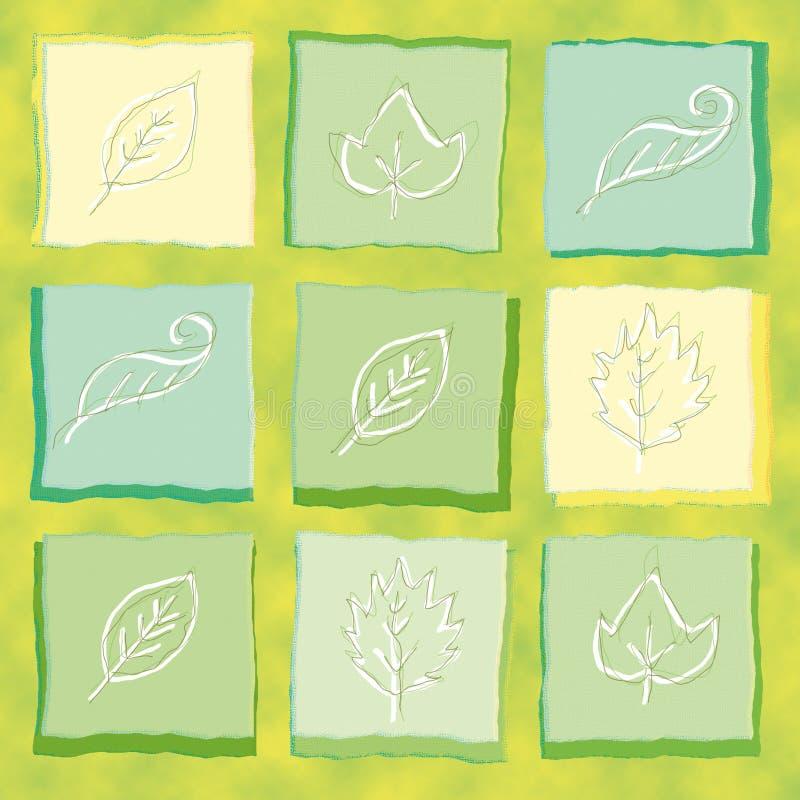 Folhas ilustração do vetor