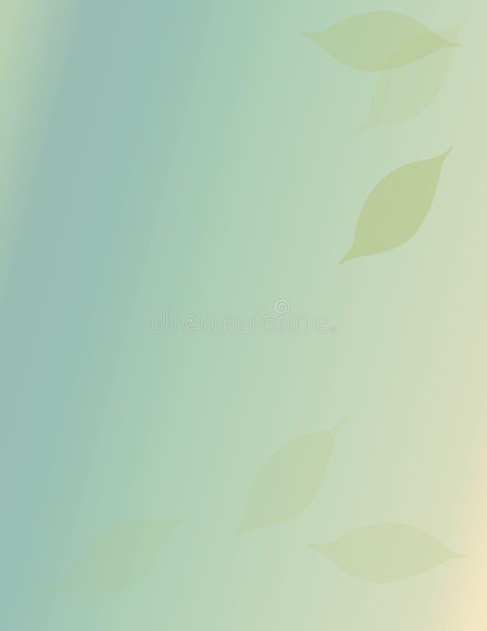 Folhas de queda ilustração stock