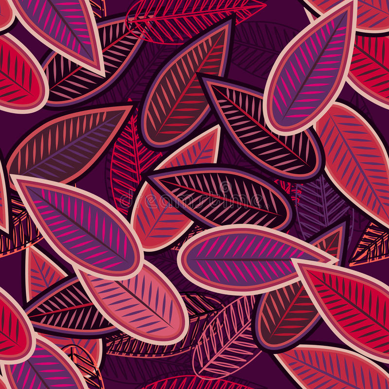 Folhas do Lilac ilustração do vetor