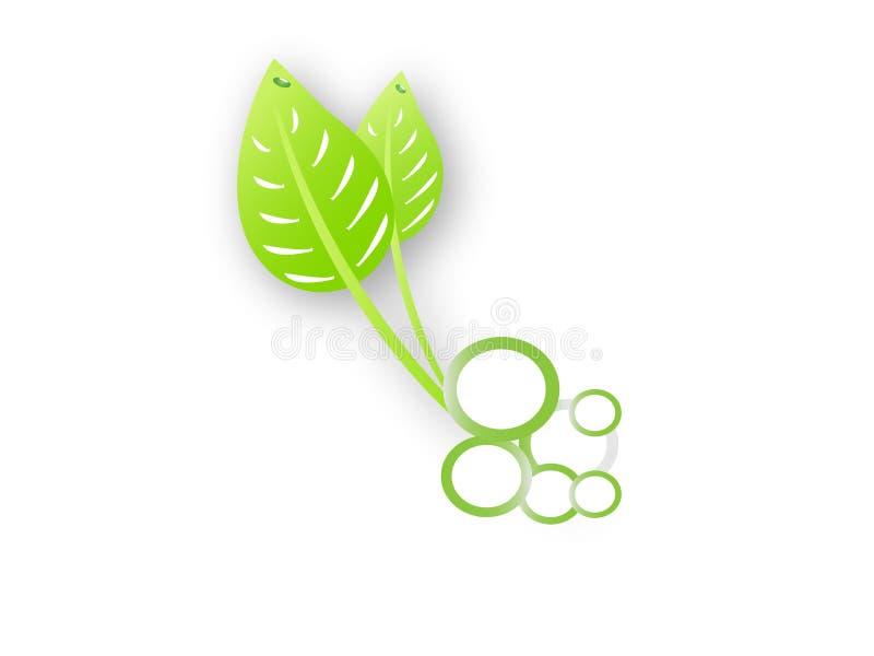 Download Folhas do verde ilustração do vetor. Ilustração de logos - 16864729