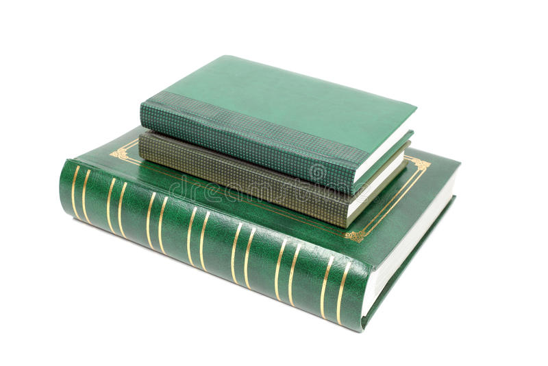 Foliantboeken stock afbeelding