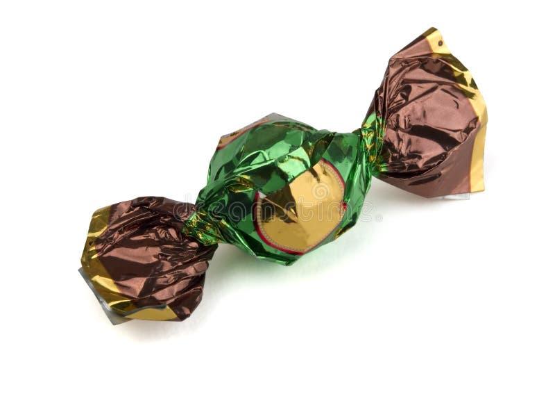 Folienumwickelte Süßigkeit stockfotografie