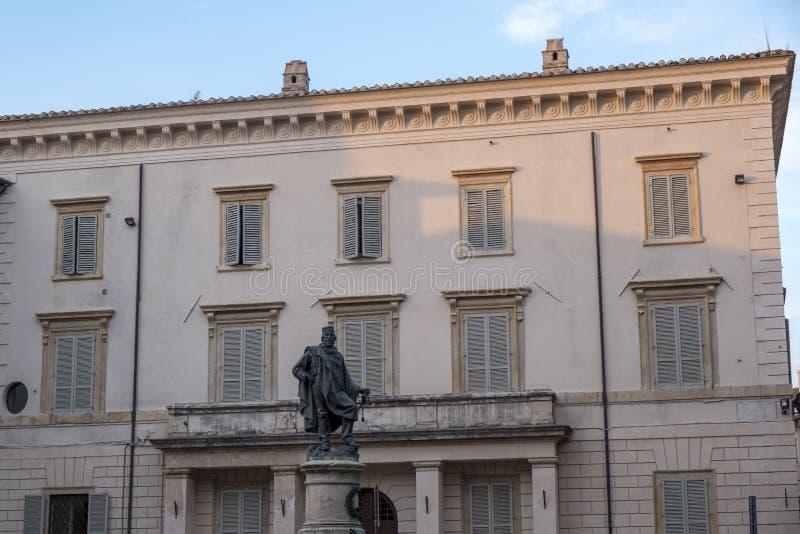 Foligno Perugia, Italië royalty-vrije stock foto