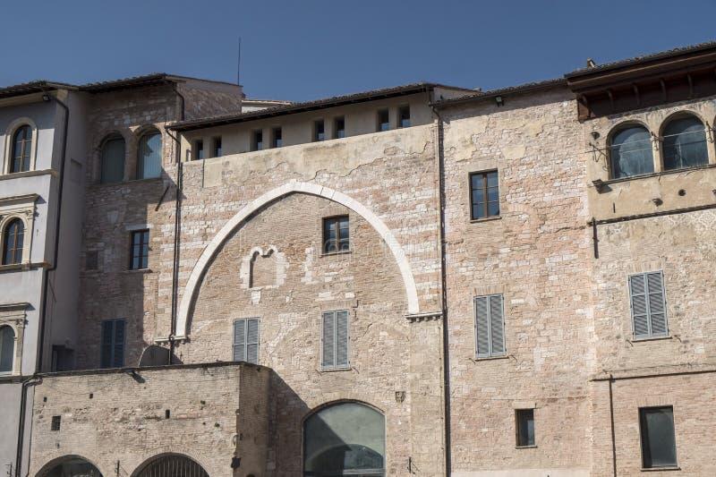 Foligno Perugia, Italië stock afbeelding