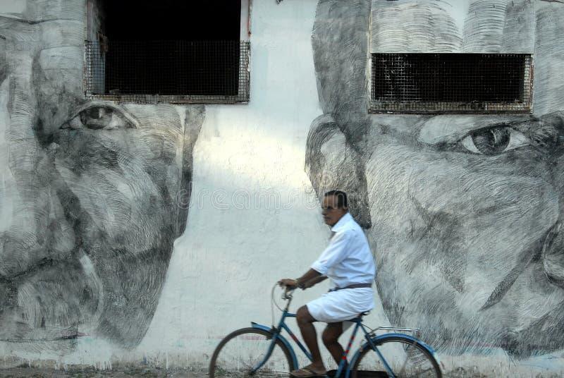 Folk av Kerala arkivfoto