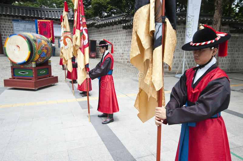 Download Folk Celebrations In Seoul Editorial Photography - Image: 15265602
