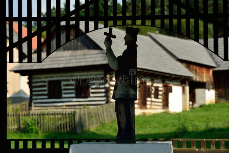 Folk Chapelry, svala, Slovakien royaltyfria foton