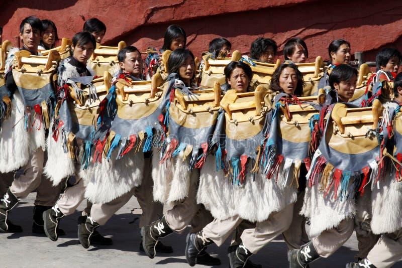 Folk dance royalty free stock photo