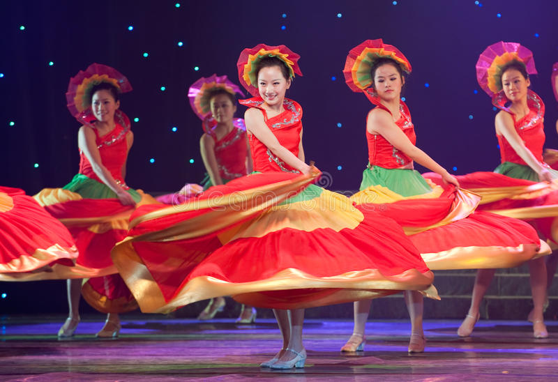 Download Folk Dance: Colorful Melody Editorial Image - Image: 41854300