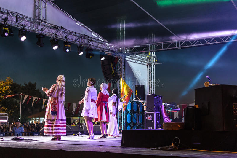 Download Folk Dance And Music Festival Editorial Stock Image - Image of cinarcik, corporations: 96534289