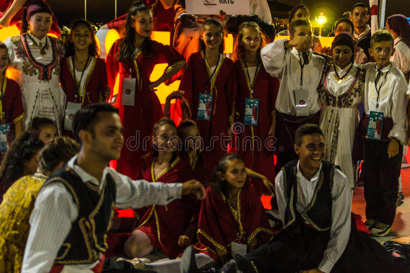 Download Folk Dance And Music Festival Editorial Photography - Image of bulgaria, girls: 96534727