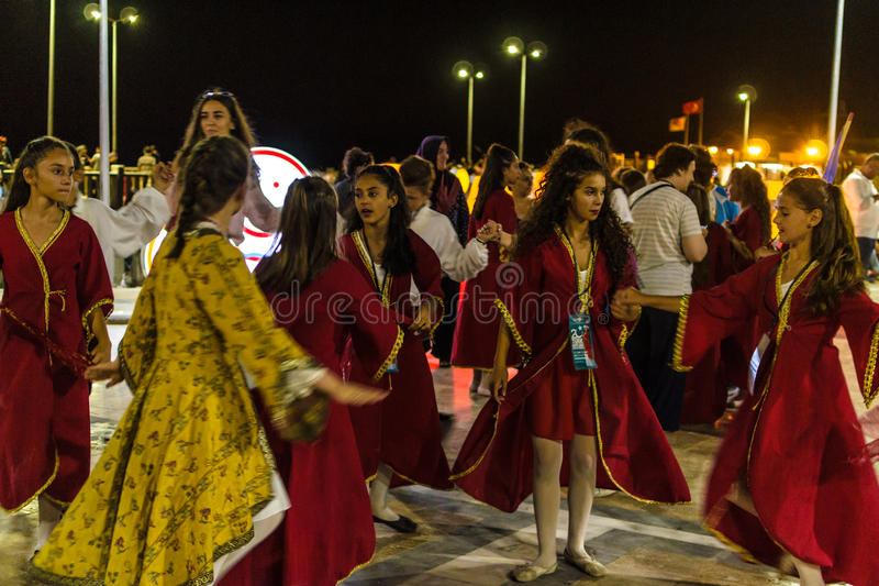 Download Folk Dance And Music Festival Editorial Stock Image - Image of events, dancer: 96535579