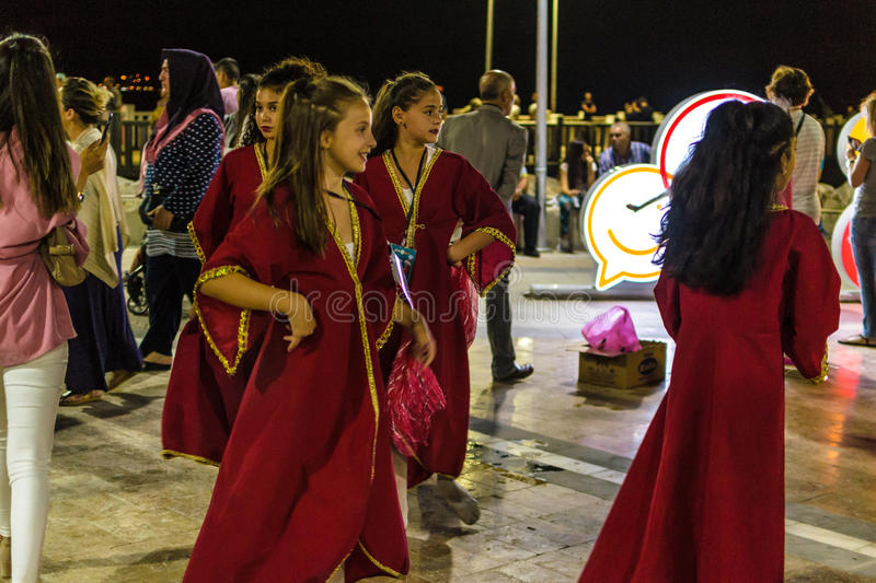 Download Folk Dance And Music Festival Editorial Stock Image - Image of avaric, cinarcik: 96535739