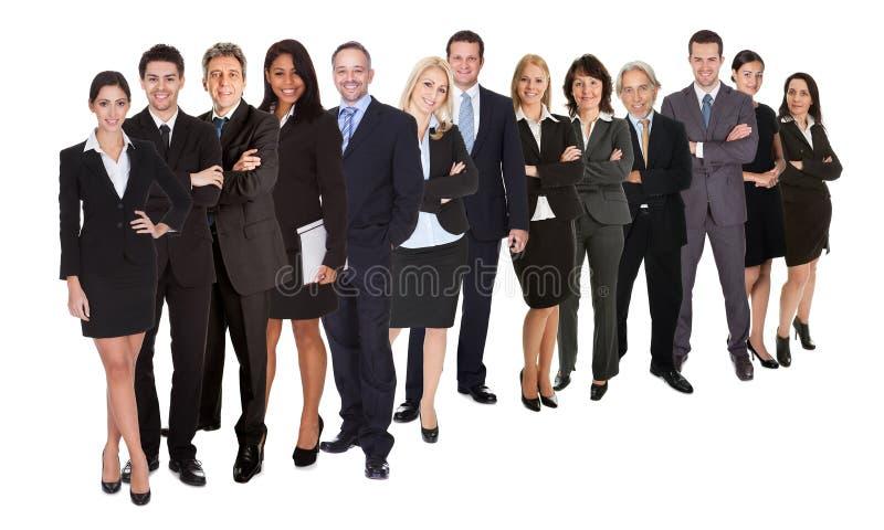 folk för affärsgrupp royaltyfri fotografi