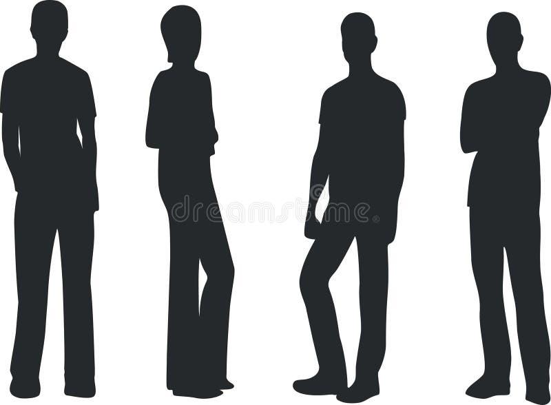 folk för bandmusik stock illustrationer