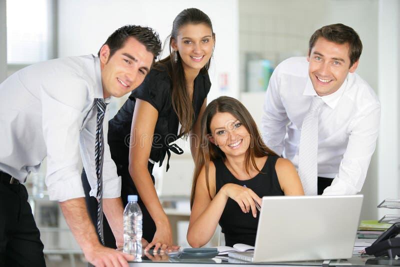 folk för kontor för affärsgrupp royaltyfria foton